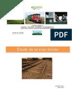 Train Boutdeville Etude Voie Ferree