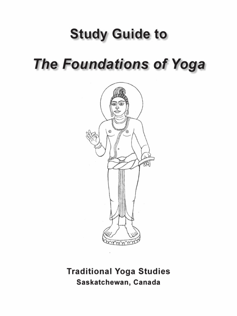 Study Guide to The Foundations of Yoga Georg Feuerstein