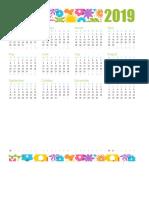 Calendario Divertido Para Cualquier Año1