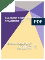 Historia, Geografía y Economía 1 cuaderno de reforzamiento pedagógico - JEC.pdf