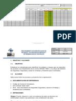 Matriz de evaluacion de riesgos