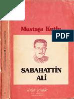 Mustafa Kutlu- Sabahattin Ali