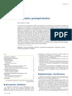 Péritonites postopératoires (1)
