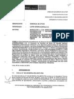 Resolución N° 60-2018/CDA-Indecopi Expediente N° 001082-2018-DDA