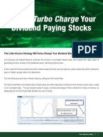 Turbo Charge Your Dividend Paying Stocks