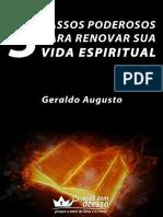 Guia 3 Passos Poderosos Renovar Vida Espiritual
