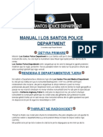 Manual (Handbook) i Los Santos Police Department