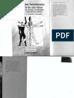 09. Tatarkiewicz, La Creatividad... en Historia