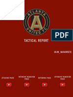 TACTICAL REPORT + TRAINING DRILLS | ATLANTA UNITED - TATA MARTINO