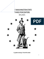 Washington Three Percent By Laws
