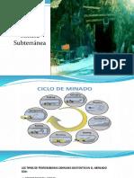 Clase N_15 Equipos Mineros Subterránea