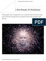 no the future is not female