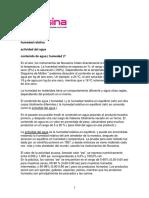 Humedad relativa, Actividad de agua y Contenido de agua.pdf