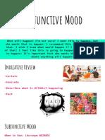 subjunctive mood powerpoint presentation