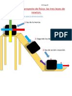 Proyecto de Fisica - Leyes de Newton