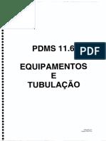 Equipamentos e Tubulações PDMS 11.6