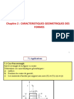 Application 1chapitre II Caracteristiques-geometriques-sections