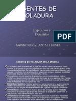 AGENTES DE VOLADURA