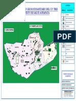 Mapa de Sectorizacion Geosanitaria Del c.p. Tres Estrellas Puesto de Salud Achapat