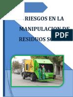 Riesgos en La Manipulacion de Residuos Solidos