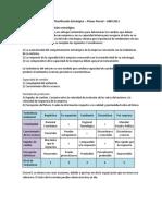 Resumen planificacion estrategica parcial 1 uai