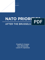 NATO Priorities After the Brussels Summit