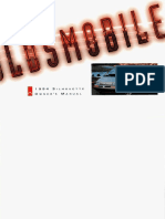 1994 Oldsmobile Silhouette Owners Manual