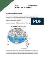 5.1.-CRECIMIENTO DEMOGRAFICO,  INDUSTRALIZACION Y USO DE ENERGIA.