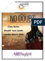 No Doubt - QShams Notes