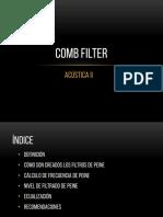 Comb Filter y Efecto Haas