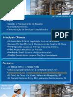 PORTFÓLIO RIOTECH ENGENHARIA - Enseada Vistoria Inspeção Terceirização Offshore Limpeza Estaleiro Rj Ba