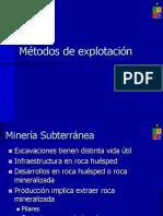 17139585 Metodos de Explotacion