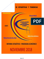 Panorama Economico Noviembre 2018