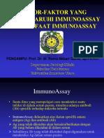 faktor yg mempengaruhi immunoassay.ppt