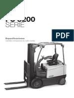 Carretillas Elevadoras Fc5200 Especificaciones Es
