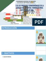 Analisis Termodinámico - Santa Rosa