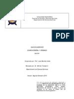 GUIA EJERCICIOS QUI 001-2010-2