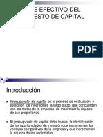Tema 1. Flujos de Efectivo Del Presupuesto de Capital. 2018 Copy
