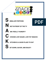 snack time handout  1
