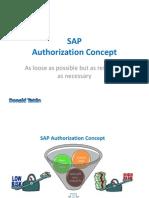 SAP - Authorization Concept