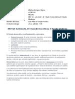 MIV-U2- Actividad 2. El Estado Democrático y El Estado Moderno.docx