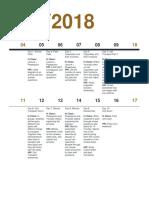 calendar edu523