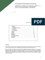 Cromatografia Extraccion y Separacion de Pigmentos Vegetales