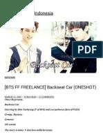 [BTS FF FREELANCE] Backseat Car (ONESHOT)  BTS Fanfiction Indonesia.pdf