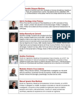 Investigadores de ciencia, tecnología e innovación