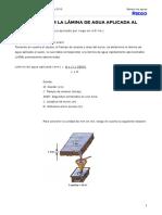 Calculo Lamina Agua Aplicada (1)