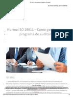 Lectura 01 Cómo gestionar un programa de auditoría