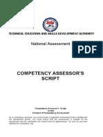 Assessor Script