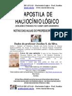 Raciocínio Lógico - Apostila de Raciocnio Lgico do Prof. Joselias.pdf