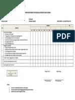 Form Monitoring Pencegahan Infeksi Aliran Darah